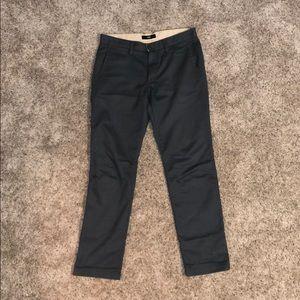 Blue Vans Chino Pants
